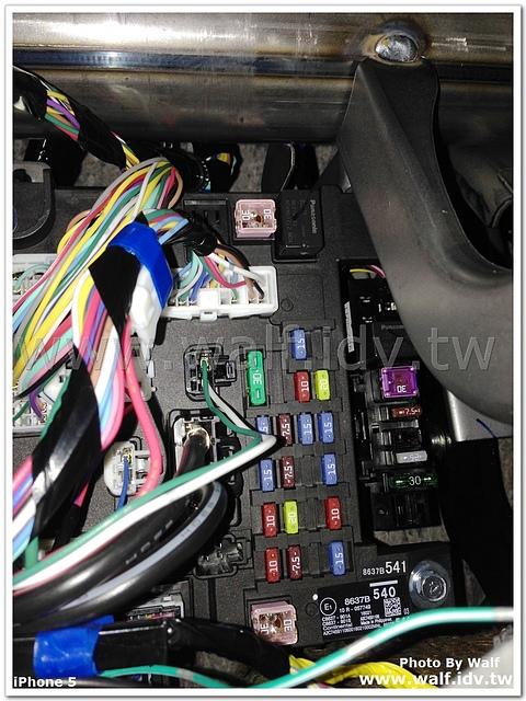 IMG_9335.jpg - LSB行李廂佈設電源插座與埋線
