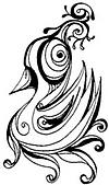 手繪:天鵝還是鳥?.jpg