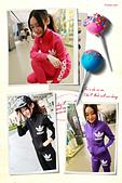 秋冬季節服飾:秋新運動女套裝三葉草立領衛衣 顏色分類- 黑色 黃色 藍色 綠色 紅色 紫色 粉紅色 白色 藍色 尺碼- XXL XL L  喜歡朋友的