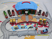 TOMY火車組:湯瑪士合金小火車