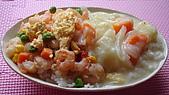 菜單:蝦仁蛋拌飯+燉物(20081129)