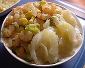 菜單:玉米蝦仁萵苣飯(20081129)