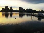 (yahoo)雲彩。夕照。夜景。煙火。星軌:夕照-大稻埕碼頭