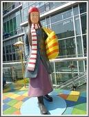 (yahoo)公共藝術:向左走向右走-幾米在台北